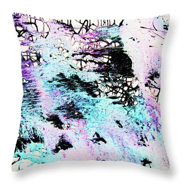 Labyrinthine Web Throw Pillow by Roberto Prusso
