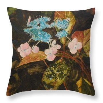 Lace Cap 2 Throw Pillow by Jean Blackmer