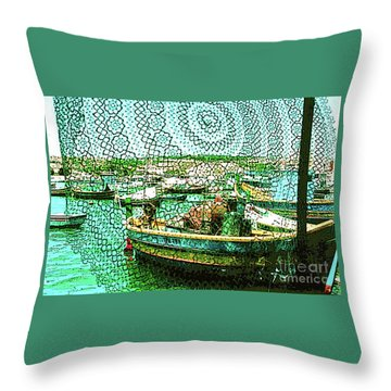 Lacework Throw Pillow