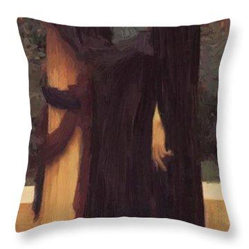 Lachrymae Throw Pillow