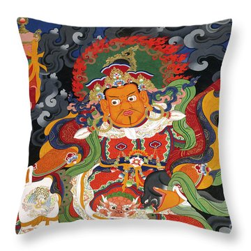 Ladakh_17-15 Throw Pillow
