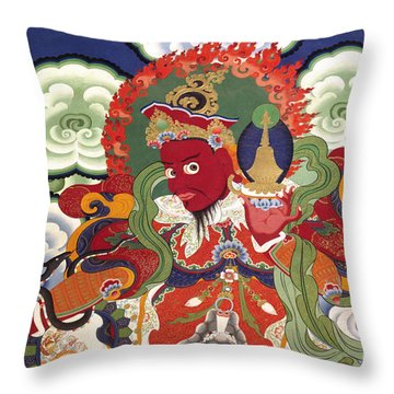 Ladakh_17-2 Throw Pillow