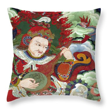 Ladakh_17-5 Throw Pillow by Craig Lovell