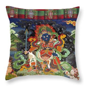 Ladakh_17-8 Throw Pillow by Craig Lovell