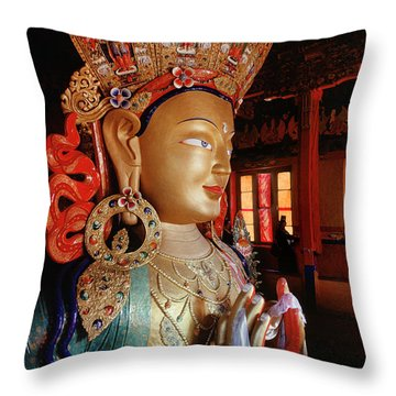 Ladakh_41-2 Throw Pillow