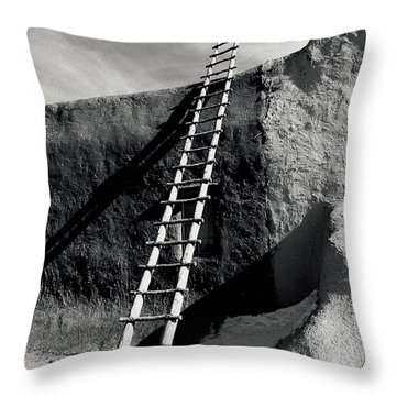 Ladder To The Sky Throw Pillow