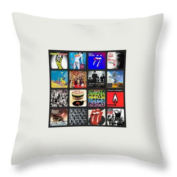 Ladies And Gentlmen The Rolling Stones Throw Pillow