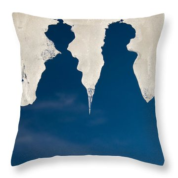 Ladies From Heaven Throw Pillow
