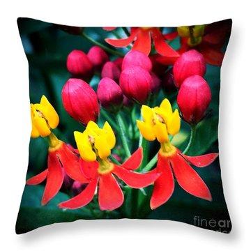 Ladies In Waiting Throw Pillow by Vonda Lawson-Rosa