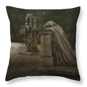 Grief Throw Pillows