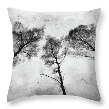 Ladies Of The Woods Throw Pillow