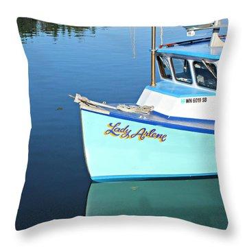 Lady Arlene Throw Pillow