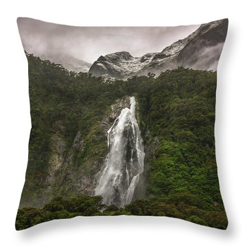 Lady Bowen Falls Throw Pillow