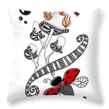 Lady Bug Lady Bug Throw Pillow