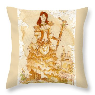 Girl Throw Pillows