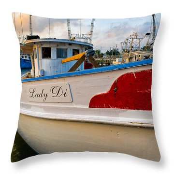 Lady Di Throw Pillow