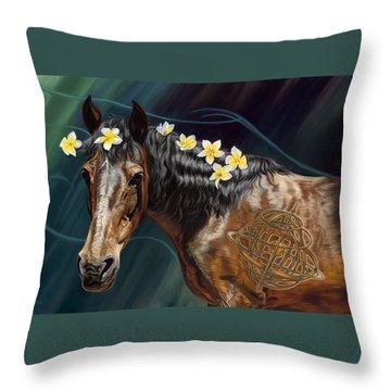 Lady Faire Throw Pillow
