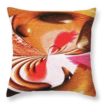 Lady Godiva Throw Pillow