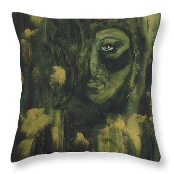 Lady Ivy Throw Pillow