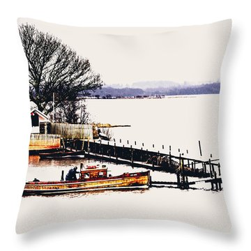 Throw Pillow featuring the photograph Lady Jean by Jeremy Lavender Photography