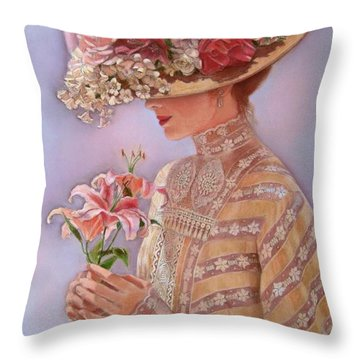 Lady Jessica Throw Pillow
