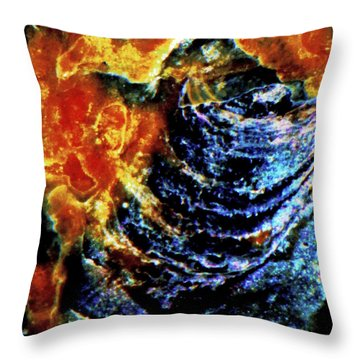 Lady Of The Shell Throw Pillow