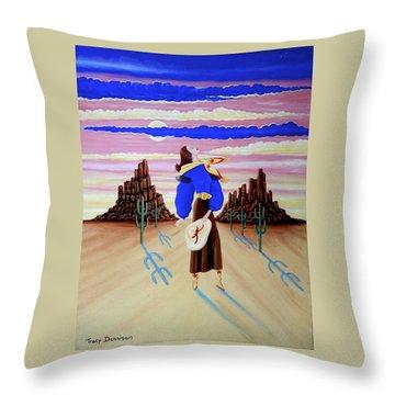 Lady On The Range Throw Pillow