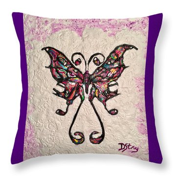 Lady T Throw Pillow