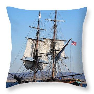 Lady Washington I Throw Pillow