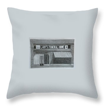 Lady's 1934 Throw Pillow