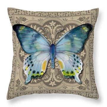 Laglaizei Butterfly Design Throw Pillow