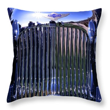 Lagonda Throw Pillow