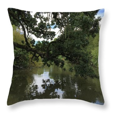 Laguna Bridge Throw Pillow