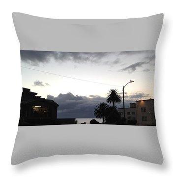 Laguna Rain 2015 Throw Pillow