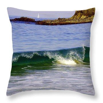 Laguna Sailing Throw Pillow
