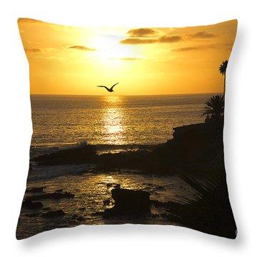 Laguna Sunset Throw Pillow