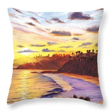 Laguna Beach Throw Pillows