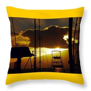 Lahaina Sunsets 5 Throw Pillow