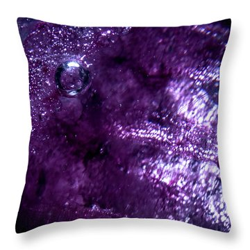 Throw Pillow featuring the photograph Lair by Eric Christopher Jackson