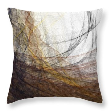 Lairing Throw Pillow