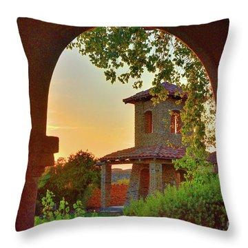 Lajitas Sunrise Throw Pillow