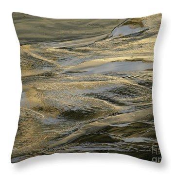 Lajollagold Throw Pillow