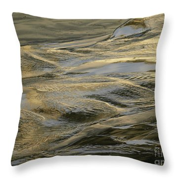 Lajollagold Throw Pillow