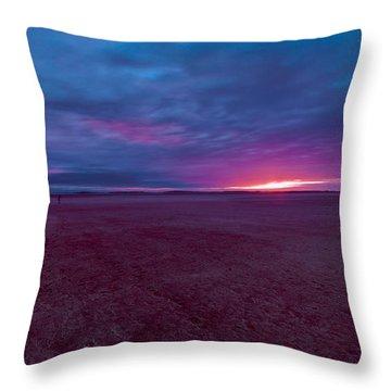 Throw Pillow featuring the photograph Lake Ballard At Dawn by Julian Cook