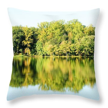 Lake Briddle Throw Pillow