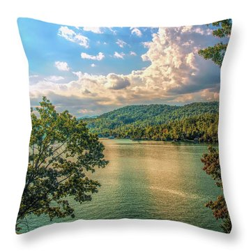 Lake Burton Throw Pillow