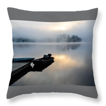 Lake Calm Throw Pillow
