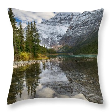Lake Cavell Throw Pillow