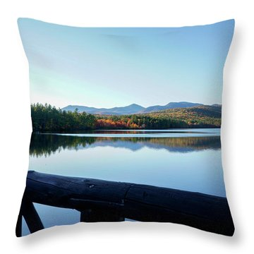 Lake Chocorua Autumn Throw Pillow