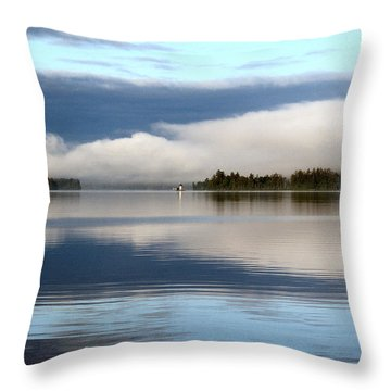 Lake Cobb'see Throw Pillow